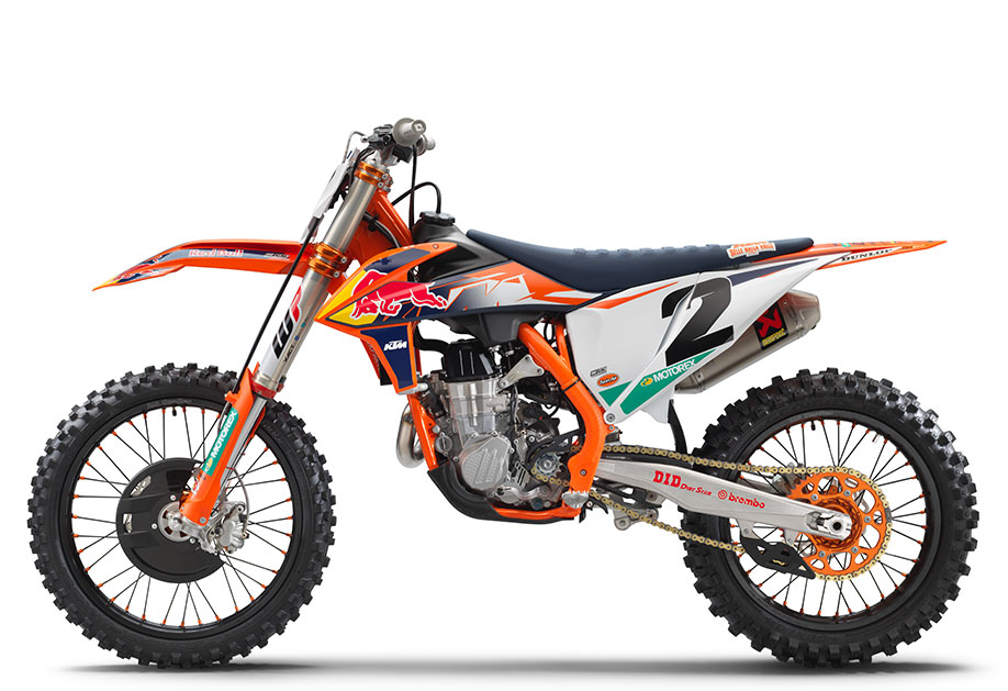 450 SX-F FACTORY EDITION 2021